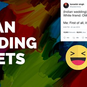 Our Favorite Indian Wedding Tweets