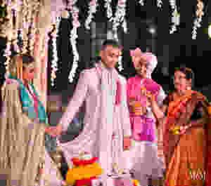 walking around fire indian wedding custom usa