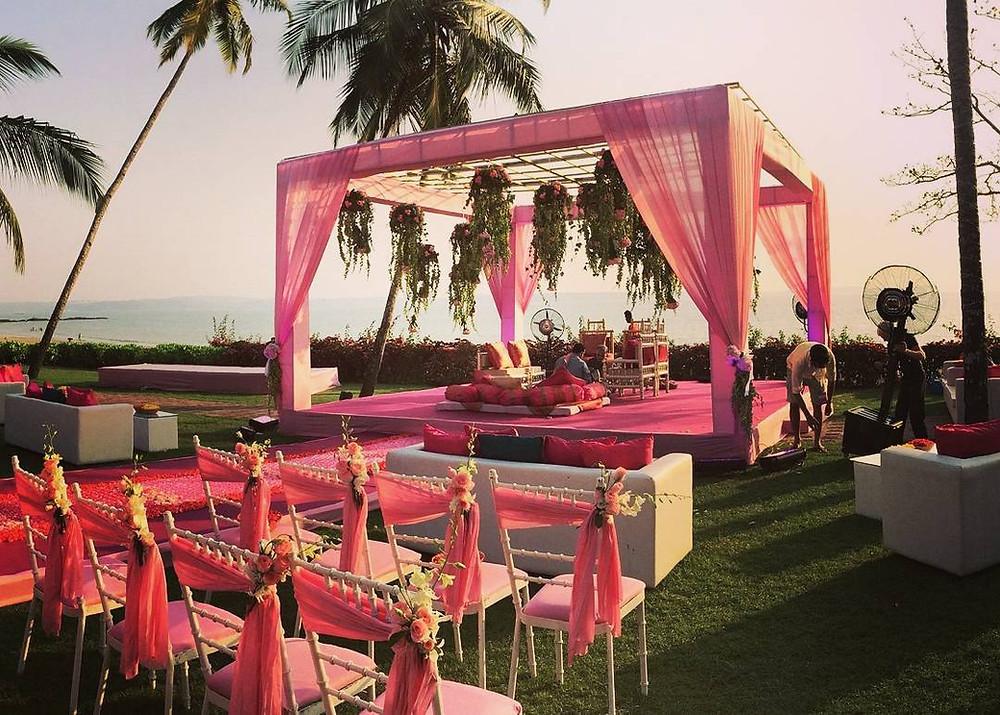 indian wedding beach