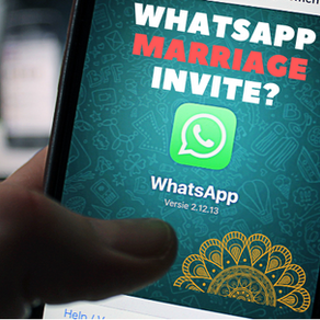 Inviting Friends for Marriage Through WhatsApp? | Must Read Before
