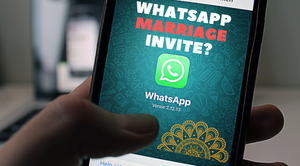 are WhatsApp marriage invites ok to send?