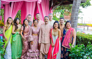 Indian wedding attire for men and women first time