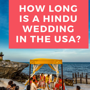 How Long is a Hindu Wedding in America?