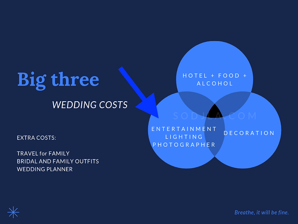 Wedding DJ costs in America.