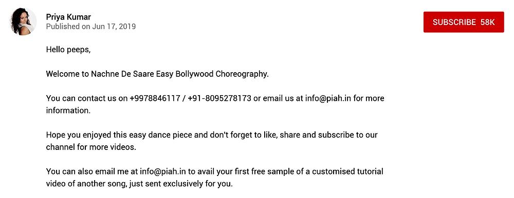 Indian wedding sangeet choreography videos.