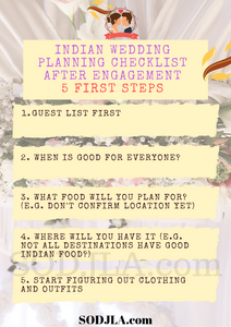 Indian Wedding Planing First Steps