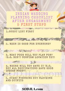 Indian Wedding Checklist