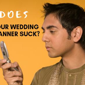 Is My Wedding Planner Bad?