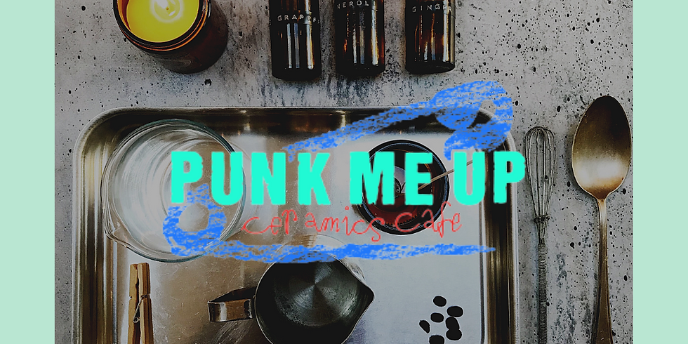 Punk Me Up Cafe Soy Candle & Therapeutic Perfume Workshop 16th Oct