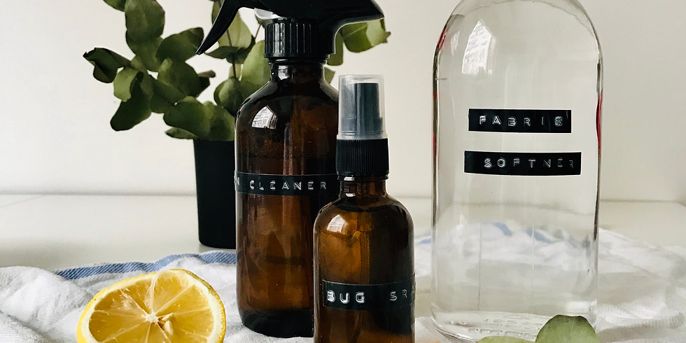 £55 Make your own eco household cleaners