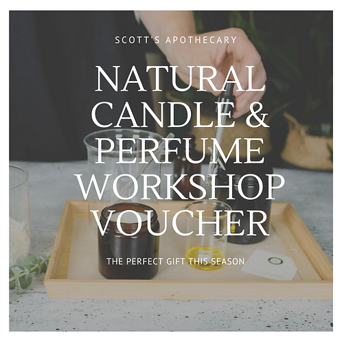 Candle & Perfume Workshop Gift Voucher