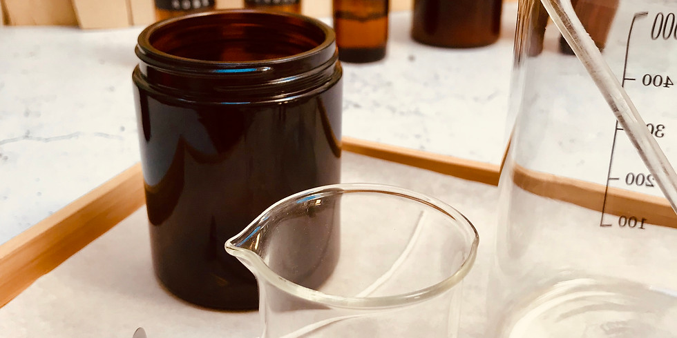 £49 Soy Candle & Therapeutic Perfume Workshop 13th Oct