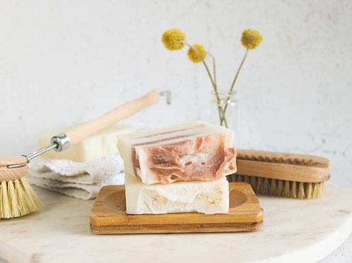 Organic cold process olive oil & coconut oil soap