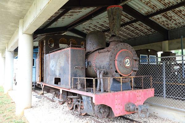 南大東島ふるさと文化センター 蒸気機関車 SL