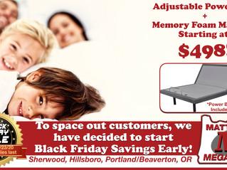 Black Friday Savings Start NOW!