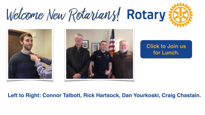 Rotary of Des Moines/Normandy Park Continues to Grow!