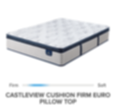 PS CASTLEVIEW CUSHION FIRM EURO PILLOW T