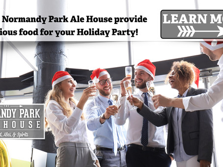 Let the Ale House provide delicious food for your Holiday Party!