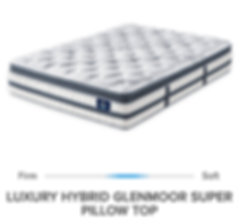 PS LUCURY HYBRID GLENMOOR SUPER PILLOW T