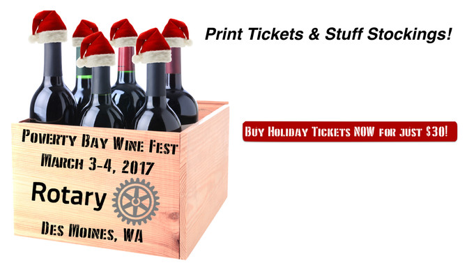 Last Chance for Poverty Bay Wine Fest Holiday Tickets!