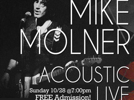 Mike molner live 10/28 at 7p