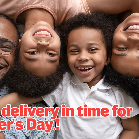 Free Delivery for Dad!
