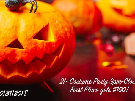2nd annual halloween costume party 10/31