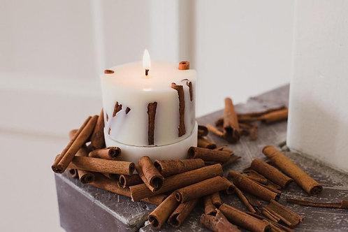 """""""Kanēlis"""" rapšu vaska svece"""