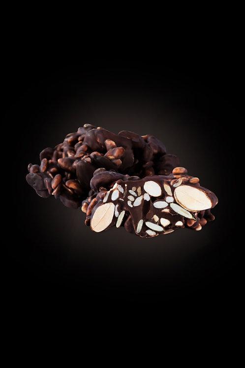 """""""Čunguri"""" tumšajā šokolādē, 100g"""