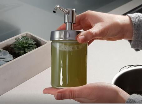 3 sastāvdaļas: trauku mazgājamā līdzekļa recepte ar Marseļas ziepēm