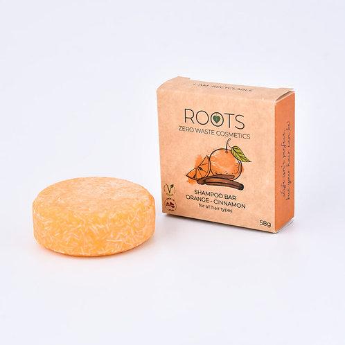 ROOTS Šampūnziepes Apelsīns-Kanēlis