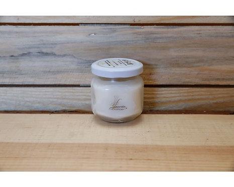 Rapšu vaska svece 150ml burciņā