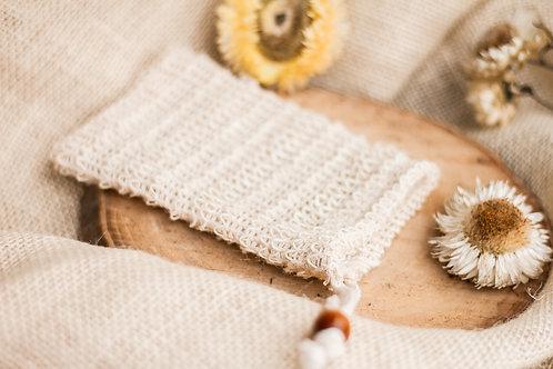 Ziepju maisiņš ar koka pērlīti