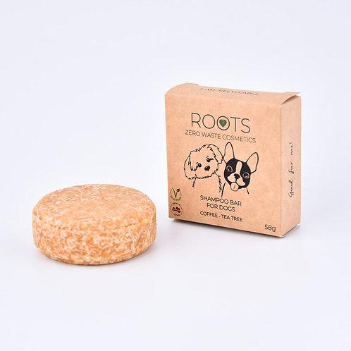 ROOTS Šampūnziepes suņiem (Kafija & Tējas koks)