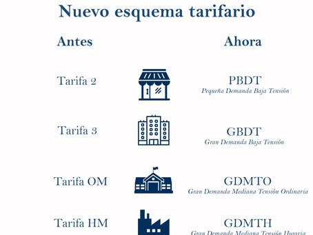 Nuevo Esquema Tarifario