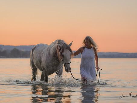 Seepferd & Meerjungfrau......