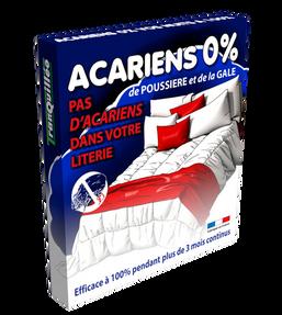 Acariens 0%