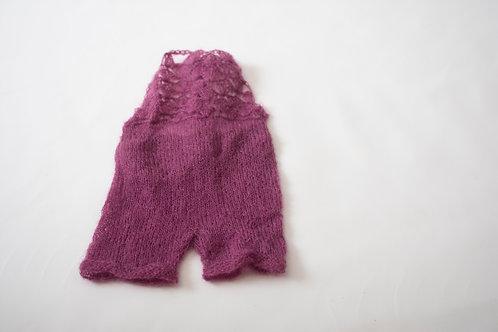 Purple NEWBORN outfit