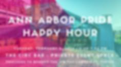 Ann Arbor Pride Happy Hour - Circ Bar.pn