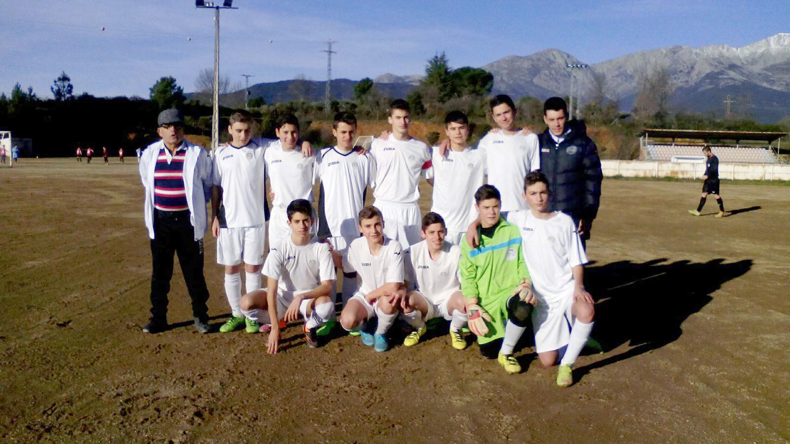 Foto de equipo de cadetes