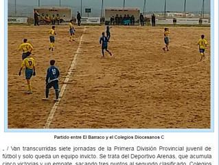 Últimas noticias destacadas sobre el Deportivo Arenas C.F.