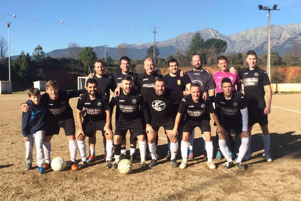 Foto de equipo de veteranos