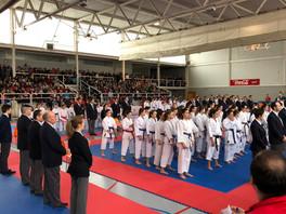 Campeonato regional de karate 2018