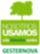 Distintivo solo kilovatios verdes Gesternova