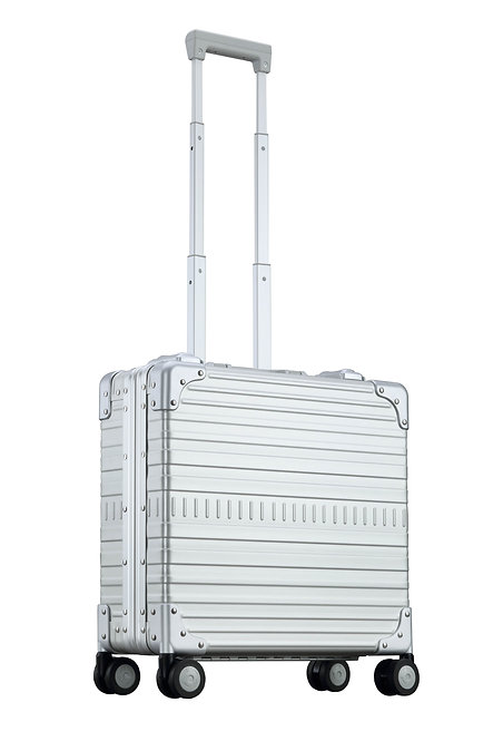 数量限定 OUTLET ビジネスタイプ アルミスーツケース 1~2泊向け 23L(AN-27F)