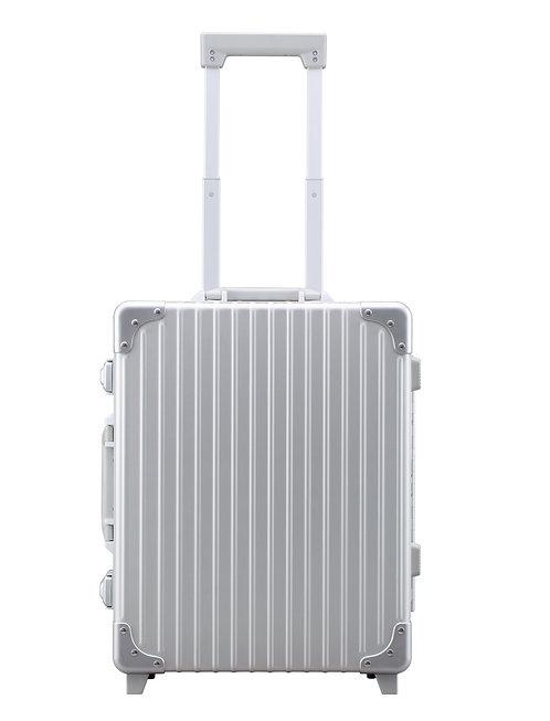 機内持込可 アルミスーツケース 1~3泊向け2輪 30L(A-38D)