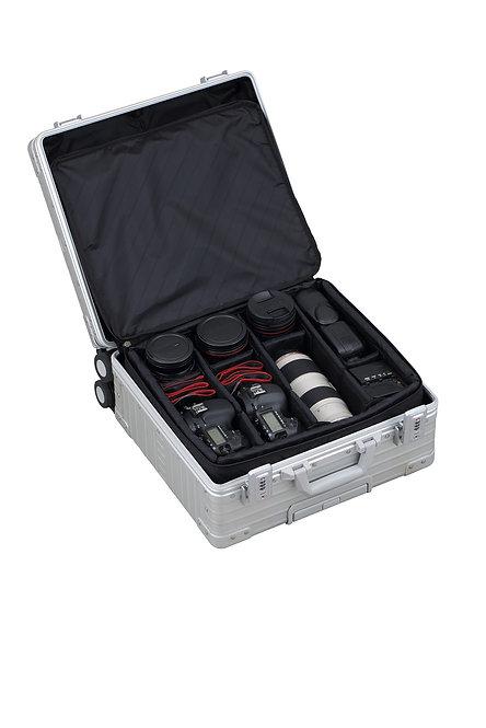 ALC-2021VF カメラケース ベアリングキャスター付 縦開き仕様 452*425*210