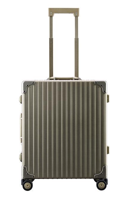 OUTLET アルミスーツケース 3~5泊向け 45L(A-58F)シャンパンゴールド