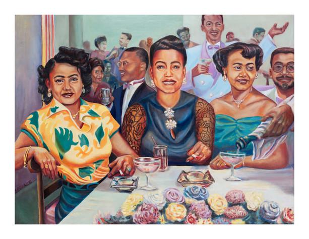 Three Ladies: Portrait of Mom