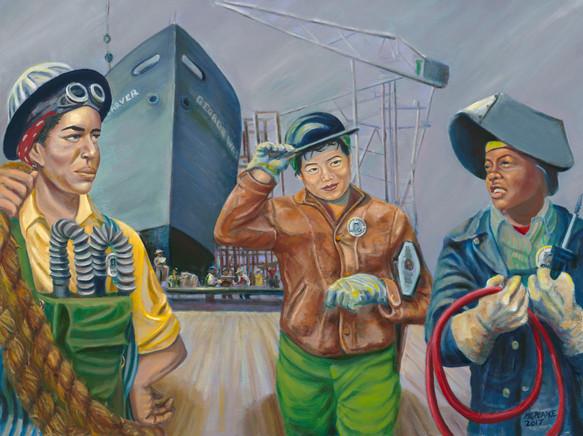 Shipyard Women